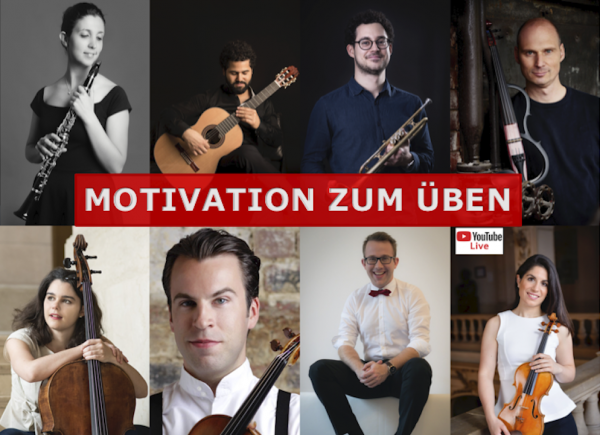 wie motivieren sich musiker zum üben