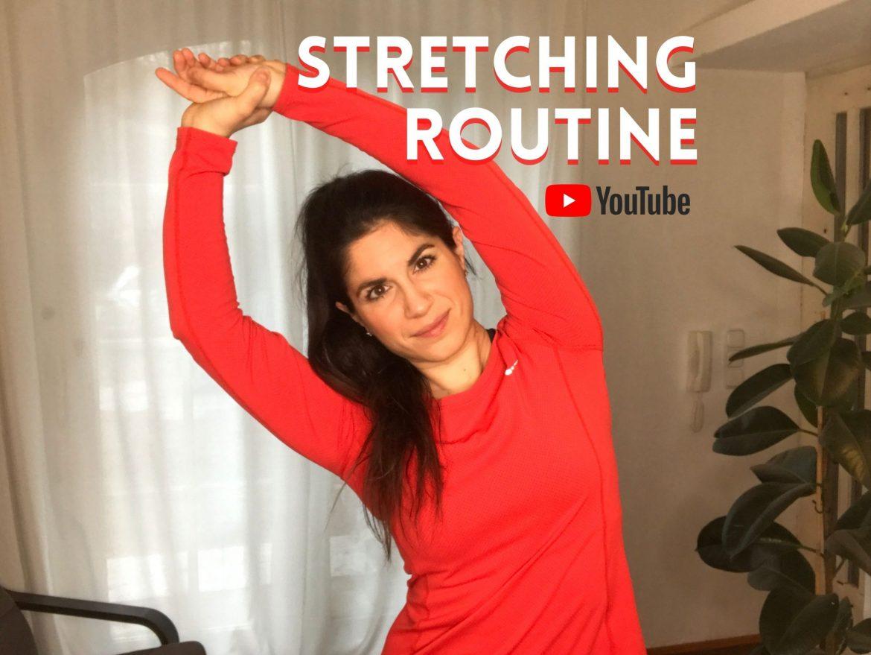 Stretching Routine für Musiker