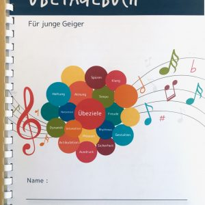 Übetagebuch Geige
